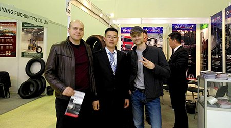YUELONG TIRE GROUP attended Russia Tyre Expo 2019